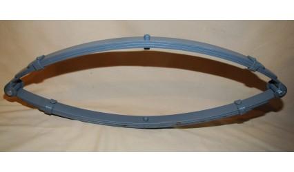 Ressort suspension double elliptique