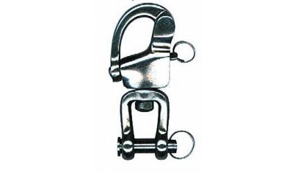 Mousqueton de sécurité à goupille