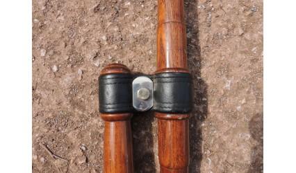 Barette de fixation inox sangle/palonnier inox