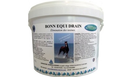 EQUIDRAIN BONNE DRAINAGE FOIE - SEAU 1.5KG