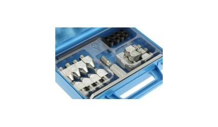 Crampons en mini mallette avec tungstène M12x175