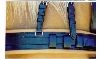 Bricole cuir et nylon ville en trait 35 mm
