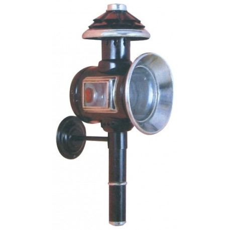 Lanterne ronde, noire pour voiture