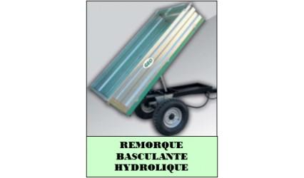 Remorque basculante hydrolique