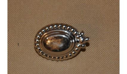 Ecusson d'oeillère (bordure) 32mm au plomb