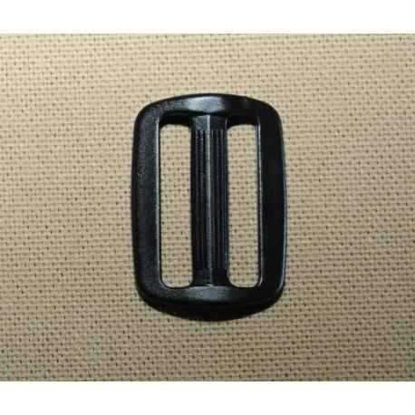 Passant plastic noir 25mm