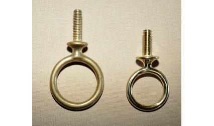 Clé de sellette laiton 3.8 cm et 3.2 cm