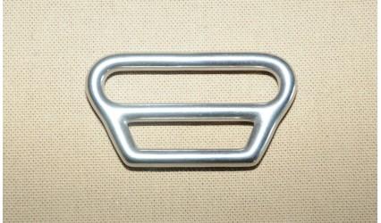Boucle dogcart porte brancard sécu. inox 33 mm - partie 1